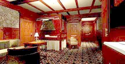 Le r m s titanic for Titanic epave interieur