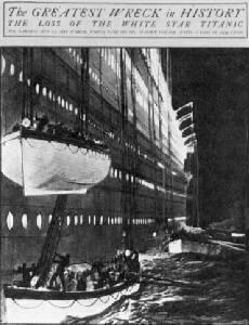 Les Canots De Sauvetage Du Titanic