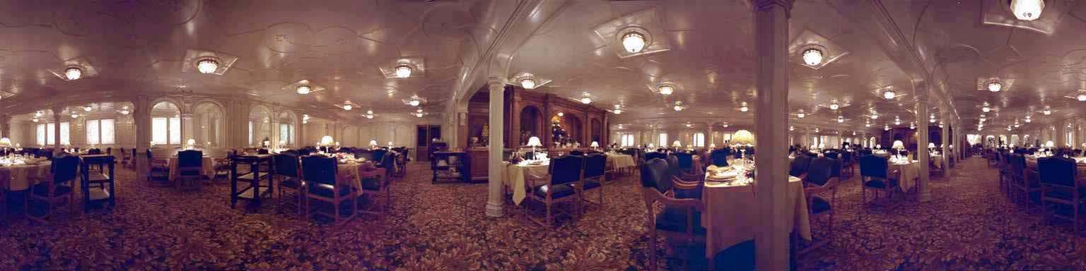 Titanic le film de james cameron - Restaurant la salle a manger a salon de provence ...