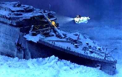 L 39 pave du titanic for Titanic epave interieur