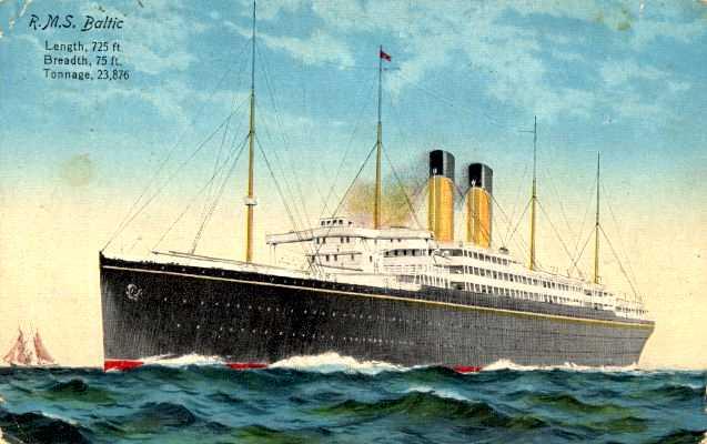 Quel autre paquebot proche du Titanic auriez-vous choisi ? Baltic