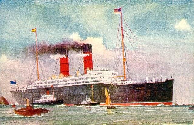 Quel autre paquebot proche du Titanic auriez-vous choisi ? Caronia