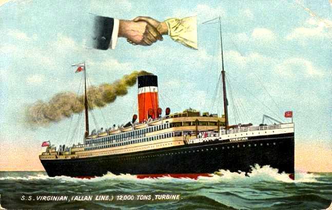 Quel autre paquebot proche du Titanic auriez-vous choisi ? Virginian